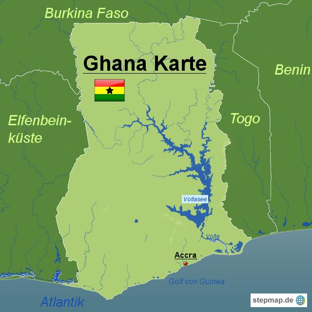 Ghana Karte.In Welchen Landern Arbeiten Wir Hison Hilfe Fur